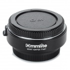 Commlite 4/3 Lens to Olympus DSLR M4/3 Adapter Ring - Black