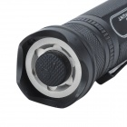 SKILHUNT S2 950lm 6-Mode White Outdoor Explore Flashlight - Black (1 x 18650 / 2 x CR123A)