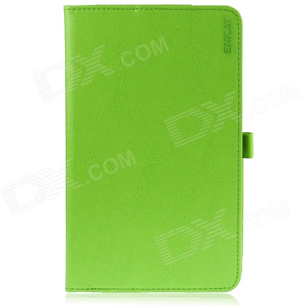 ENKAY Protective PU Leather Case w/ Stand for Asus MeMO Pad 8 / ME581C - Green protective pu leather case w auto sleep for asus memo pad me102a 10 white