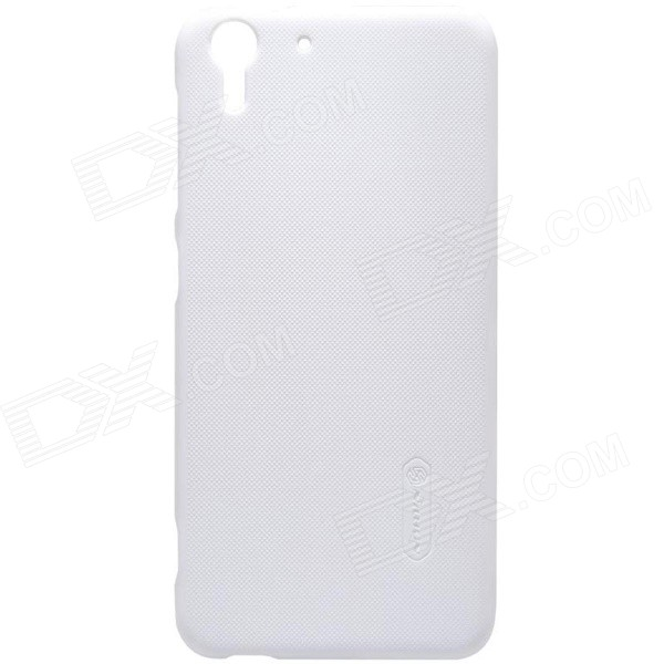 NILLKIN Matte Protective PC Back Cover Case for HTC Desire Eye - White mallper mp i8160 3 7v 1275mah replacement li ion battery for samsung i8160 i8190 s3 mini