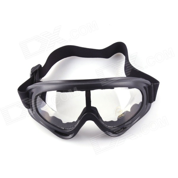 SYS0093 UV400 Fashionable Windproof Sand Protection Cycling Goggles Sunglasses - Black topeak outdoor sports cycling photochromic sun glasses bicycle sunglasses mtb nxt lenses glasses eyewear goggles 3 colors
