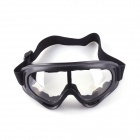 SYS0093 UV400 Fashionable Windproof Sand Protection Cycling Goggles Sunglasses - Black