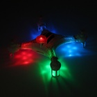 X118 2.4GHz 6-Channel 6-Axis r / c quadcopter m / gyro / LED lys - hvit