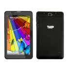 "TWP 710B 7 ""IPS Quad-Core Android 4.4 Tablet PC w / 1 Go de RAM, 8 Go ROM, Bluetooth, 3G, Wi-Fi - Noir"