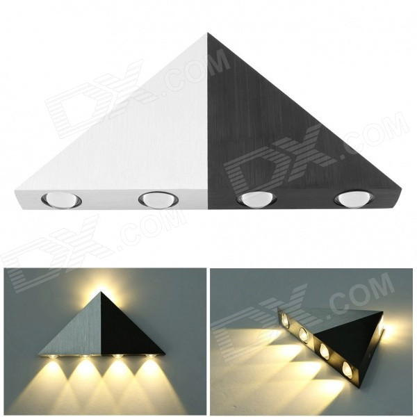 Modern 5W 450lm 2800K 5-LED Up & Down Warm White Spot Light Sconce Lighting Wall Lamp modern sconce lighting wall mounted bedside reading light creative wall lamp living room foyer home lighting rustic wall sconce