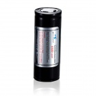 SKILHUNT 3.7V 5500mAh 26650 Protected Rechargeable Battery for Flashlight - Black + Silver