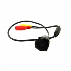 IN-Color C7959 Universal 0.6W 18.5 Drilling Wide-Angle HD Night Vision Car Reversing Rearview Camera