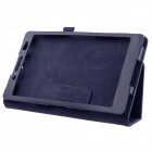 ENKAY PU Case w/ Stand for Sony Xperia Z3 Tablet Compact - Deep Blue