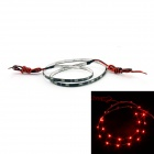 D&Z-FPCC30-R 1.8W 150lm 30-LED Red Light Decorative Strip Lamp for Car (12~15V, 60cm)