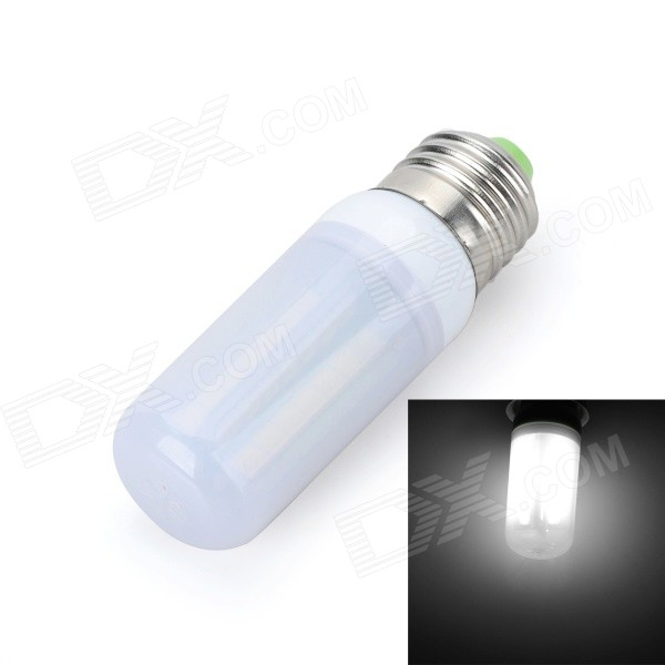 Marsing E27 Frosted Cover Cross Board 10W 900lm 6500K 56 x SMD 5050 LED Cool White Light Bulb Lamp marsing e27 frosted cover cross 10w 900lm 3500k 56 x smd 5050 led warm white light bulb ac 220v
