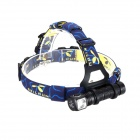 SKILHUNT New H02 820lm CREE XM-L2 U2 4-Mode Headlamp LED Flashlight - Black (1 x 18650 / 2 x CR123A)