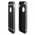 "Hat-Prince Frosted TPU Case w/ Detachable Plastic Frame for IPHONE 6 Plus 5.5"" - Black"