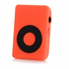 Wood Grain Style MP3 Player w/ Clip / TF / Mini USB / 3.5mm Jack - Orange + Black