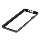 Protective TPU + PC Bumper Frame Case for Samsung Galaxy A5 - Black