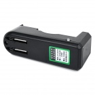 1*18650 Li-ion Battery Smart Charger - Black (US Plugs)
