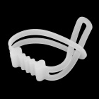 Universal Silicone Tying Band for Mountain Bike - White