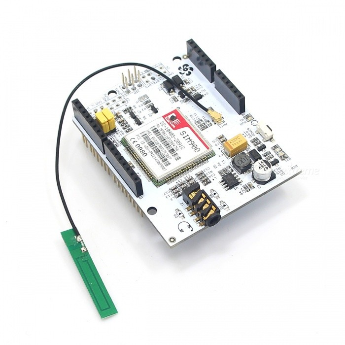 GSM / GPRS Shield SIM900 Module Development Board for Arduino - White