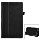 Buy Protective PU Leather Flip-Open Case Stand Sony Xperia Z3 Tablet Compact - Black