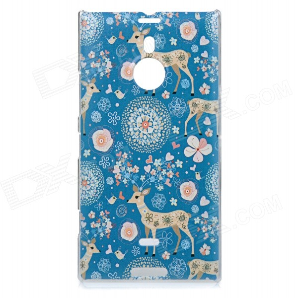 все цены на Sika Deer Pattern Protective PC Back Case Cover for Nokia Lumia 1520 - Blue + Pink + Multicolored онлайн