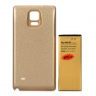 Replacement 3.85V / 8000mAh Battery + Back Cover Set for Samsung Galaxy Note 4 / N9100 - Gold