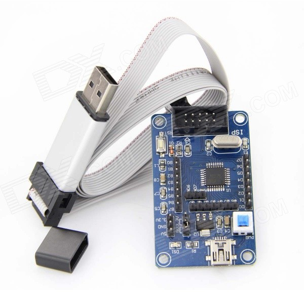 ATmega88 Develop Chip Board with ATISP Downloader Cable 88 filter