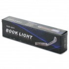 YHX-1071 0,3 W 20LM 6000K White Light Taulukko Clip-On Book Reading LED Lamppu (2 x CR1220)