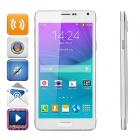 "N910C 5.5"" Screen Quad-Core Android 4.4.4 3G Smart Phone w/ 1GB RAM, 8GB ROM, Dual-Cam - White"