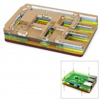 Wareshare Protective ABS Case for Raspberry Pi Model B+ - Multicolored