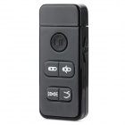 Mini Car Bluetooth V4.0 Music Receiver for IPHONE / IPAD / PDA / MP4 + More - Black