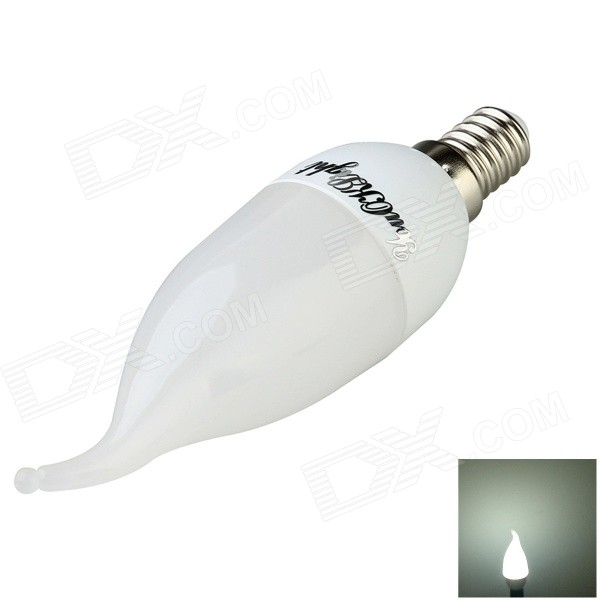 Youoklight SP-001 E14 3W LED lâmpada branca neutra - branco (AC220V)