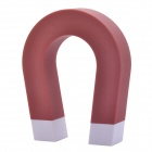 NEJE GZ0018-1 Creative U-shaped Magnetic Key Holder Chain Hanging Hook - Red + White