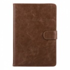 Mr.northjoe Protective PU Leather Case w/ Stand / Auto Sleep for IPAD MINI 1 / 2 / 3 - Light Brown