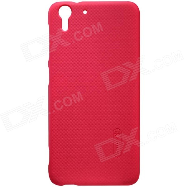 NILLKIN Matte Protective PC Back Cover Case for HTC Desire Eye - Red nillkin protective pu leather pc case cover for htc d316d d516t red