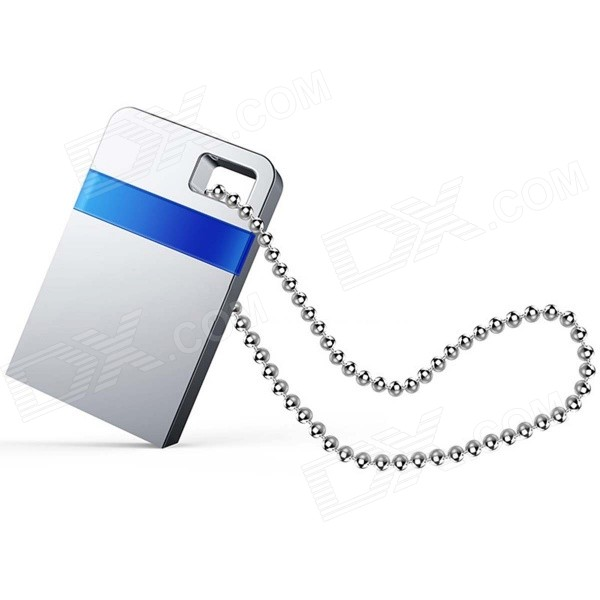 Teclast CF16GBNDX-B3 USB 3.0 Mini Flash Drives - Silvery Grey + Sapphire Blue (16GB)