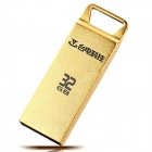 Teclast CF32GBNSX USB 2.0 Flash Disk Drive - Golden (32GB)