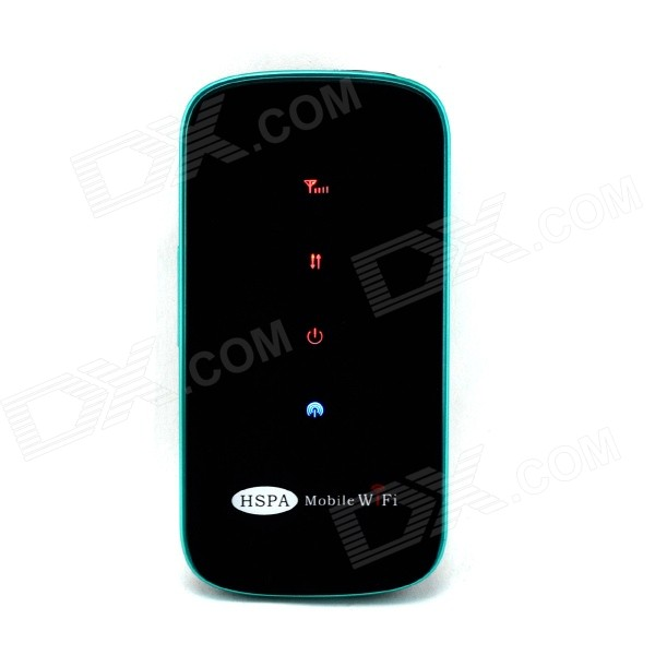 3G Wireless Mobile Wi-Fi Router w/ SIM + TF - Green + Black