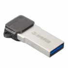 Teclast CF16GBNQO-K3 USB 3.0 Flash-Disk Drive - silberweiß + Golden (32GB)