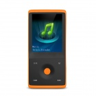 "HOTT MU1036 1.8"" Bluetooth MP3 / MP4 Player w/ FM, Voice Recording, 4GB Memory, Micro USB - Orange"