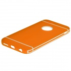 Hat-Prince Protective TPU Back Case with Detachable Plastic Frame for IPHONE 6 PLUS - Orange