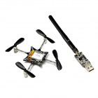 Geeetech Crazyflie Nano Quadcopter Kit 10-DOF with Crazyradio - Black