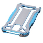 R-JUST Protective Aluminum Alloy Frame Case + Screen Guard Set for Samsung Note 3 - Blue + Grey