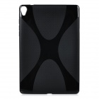 """X"" Style Protective TPU Back Case Cover for Google Nexus 9 - Black"