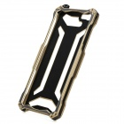 R-JUST Protective Aluminum Alloy Frame Case + Screen Guard Set for IPHONE 6 PLUS - Gold + Grey
