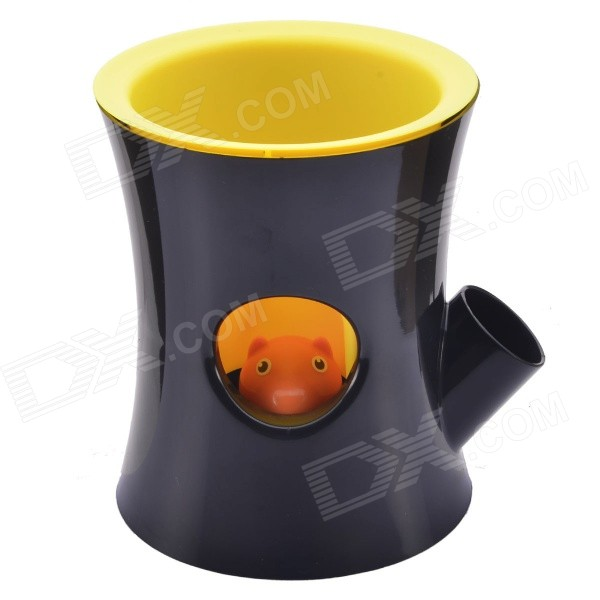 NEJE GZ0013-3 Creative Cute Squirrel Self-Watering Desktop Bonsai Plant Pot Flowerpot - Black