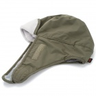 Men's Outdoor Sports Winter Warm Hat w/ Removable Face Mask - Army Green