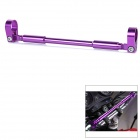 Universal Motorcycle DIY Strengthen Hand Lever / Head Balance Aluminum Alloy Cross Bar - Purple