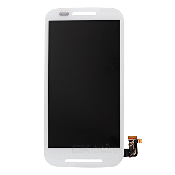 Replacement LCD Touch Display Screen for Motorola Moto E XT1021/1022/1025 - White  ll trader lcd for motorola moto g4 plus g4plus lcd touch display screen digitizer full replacement parts free shipping toolkits
