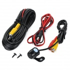Universal Wired CCD HD 170' Wide-Angle Waterproof Car Reversing Rearview Camera - Black