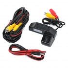 Wired HD CCD 170' Wide-Angle Waterproof Night Vision Car Reversing Rearview Camera for Mazda - Black