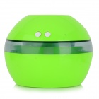 TS-1001A USB Powered Ultrasonic Atomization Air Freshener Humidifier - Green + Transparent (DC 5V)